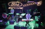 Awesome band at the Ford Party