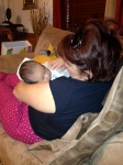 with grandma Dora