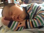 his favorite sleeping pose