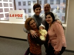 Visitin La Voz Team